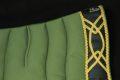 Pearl-Schabracke-Manufaktur-Barockschabracke-Barock-Antikschabracke-Dressurschabracke-Leder-Gold-Barocke-Schabracke-Schabracken-Oliv-2-scaled-e1608618995751