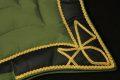 Pearl-Schabracke-Manufaktur-Barockschabracke-Barock-Antikschabracke-Dressurschabracke-Leder-Gold-Barocke-Schabracke-Schabracken-Oliv-4-scaled-e1608619002486
