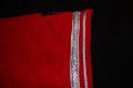Pearl-Schabracken-Manufaktur-Barock-Schabracke-Working-Equitation-Dressur-Rot-Silber-2-scaled-e1609148800861