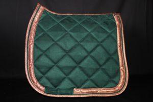 Pearl-Schabracken-Manufaktur-Friese-Barock-Antik-Dressur-Working Equitation-Tunierschabracke-Rosegold
